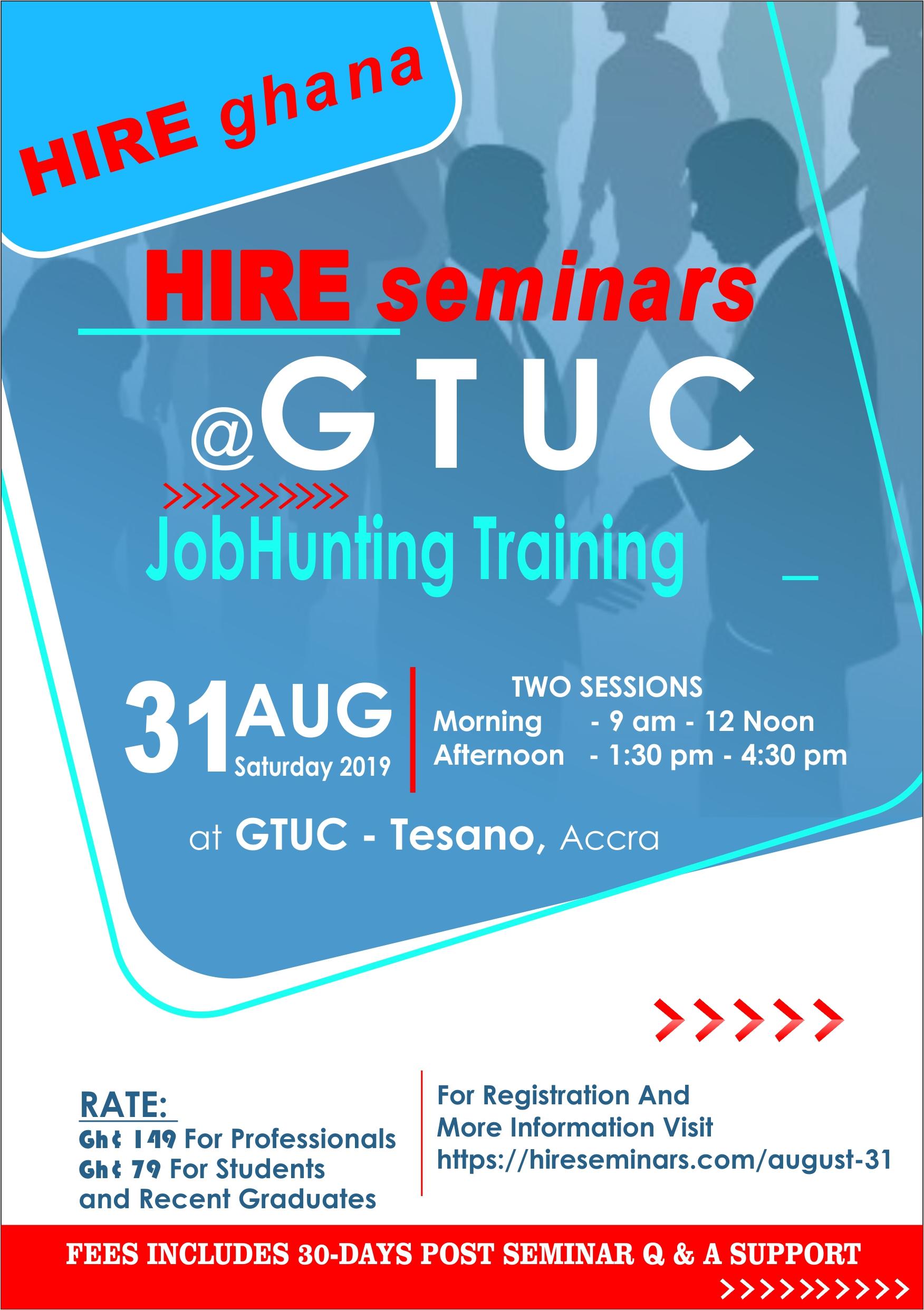 2nd Jobhunting HIREseminars