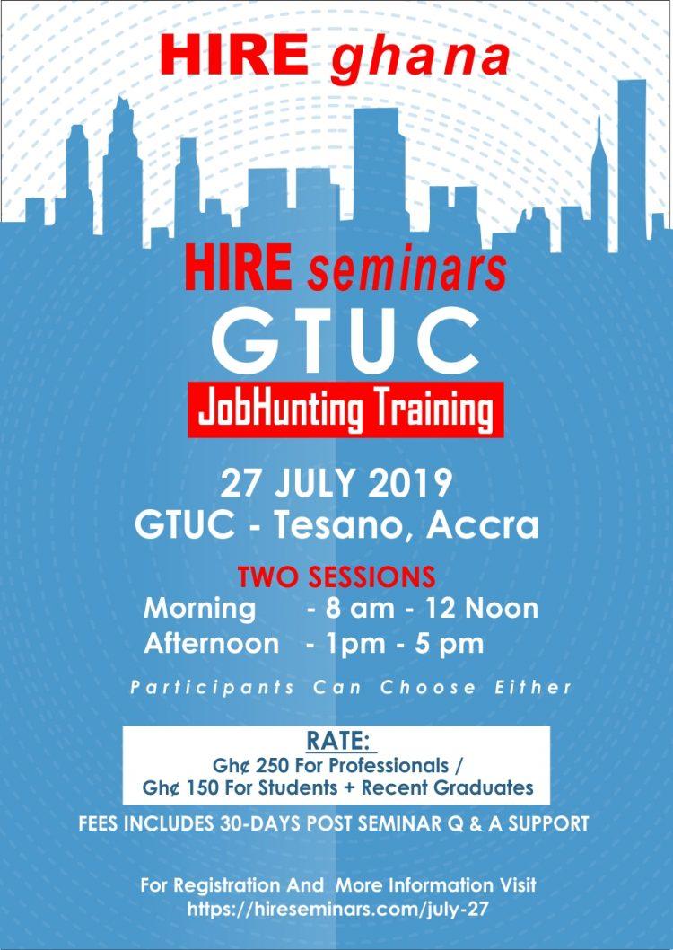 HIREseminars jobhunting event